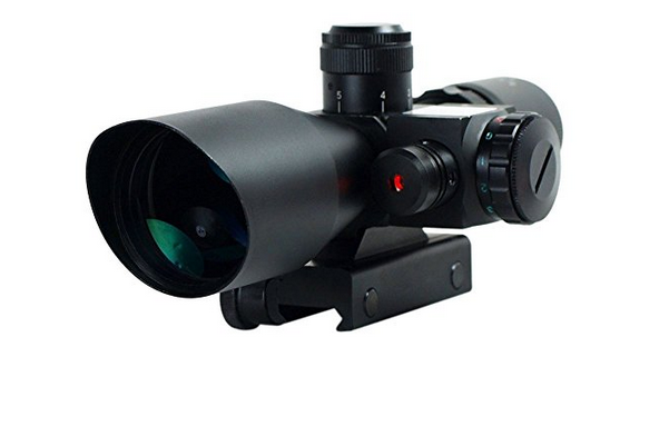 Qinuke 2.5-10x40 Tactical Rifle Scope
